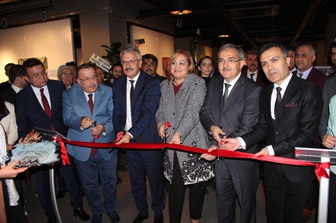 Prof. Dr. Ahmet Dalkıran'ın kişisel resim sergisine yoğun ilgi