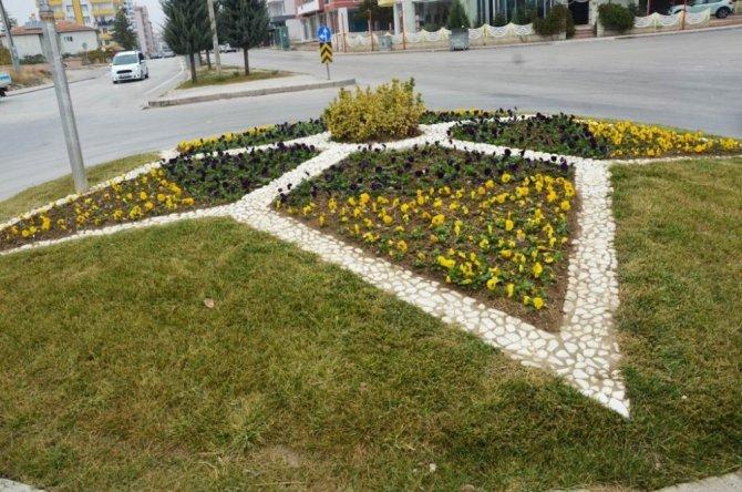 Ereğli 50 bin çiçekle süsleniyor