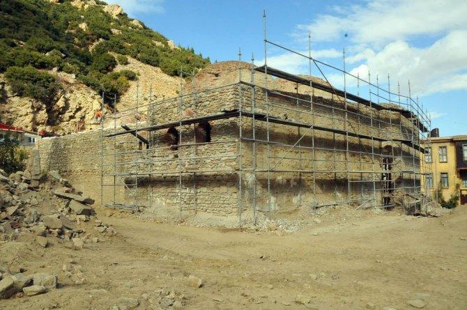 Akşehir'de tescilli Yukarı Hamam restore ediliyor