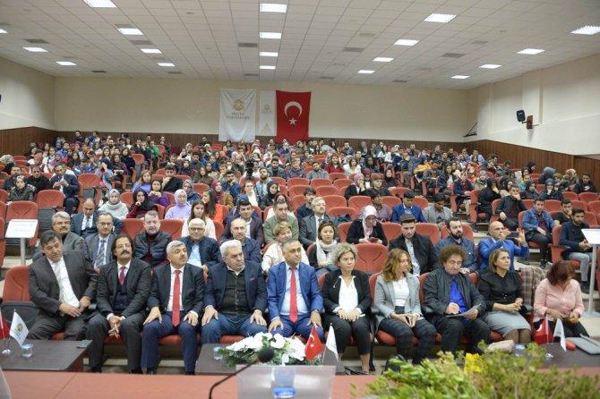 """SÜ'de """"Türk Cistus Laden ve Sağlık Turizmi""""paneli yapıldı"""