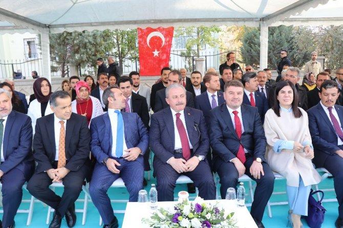 TBMM Başkanı Mustafa Şentop Aksaray'da