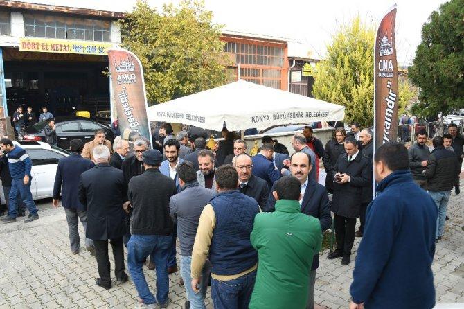 Başkan Altay vatandaşlarla bir araya geldi