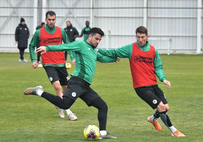 Konyaspor'da Çaykur Rizespor maçı hazırlıkları devam etti