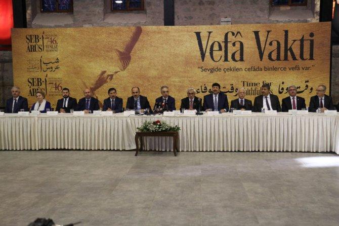 Şeb-i Arus bilgilendirme toplantısı yapıldı