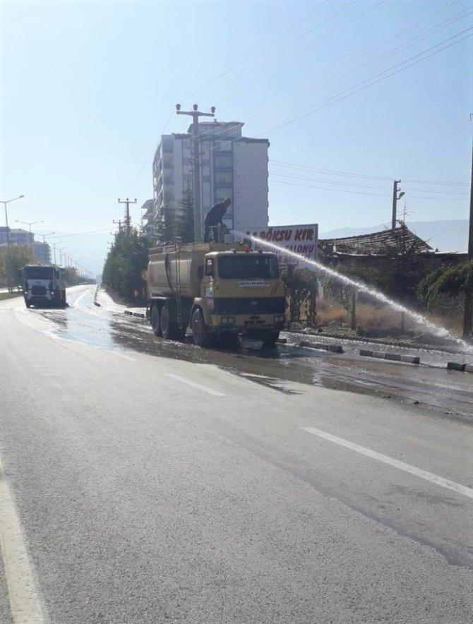 Ereğli Belediyesi temizlik çalışmalarını sürdürüyor