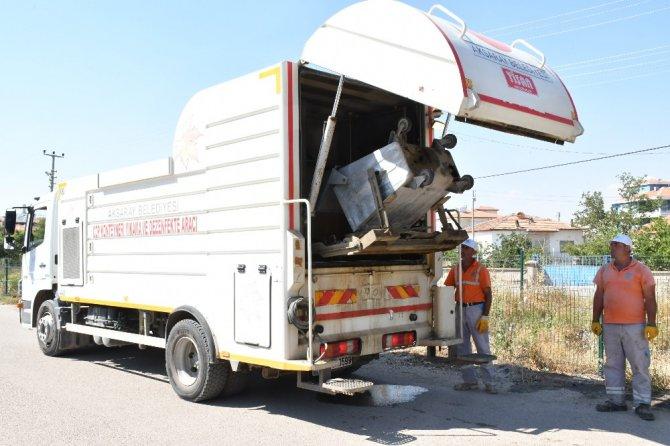 Aksaray Belediyesi daha temiz bir Aksaray için çalışmalarına devam ediyor