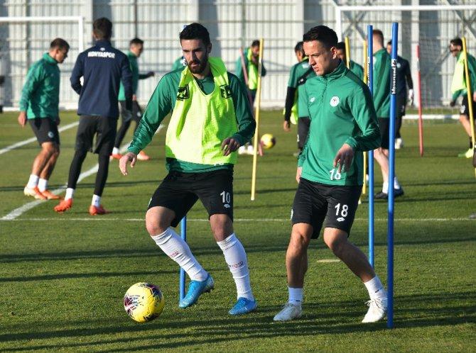 Konyaspor'da Gaziantep FK maçı hazırlıkları başladı