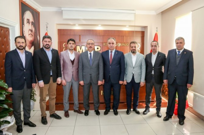 Başkan Kavuş'tan MHP İl Başkanı Karaarslan'a ziyaret