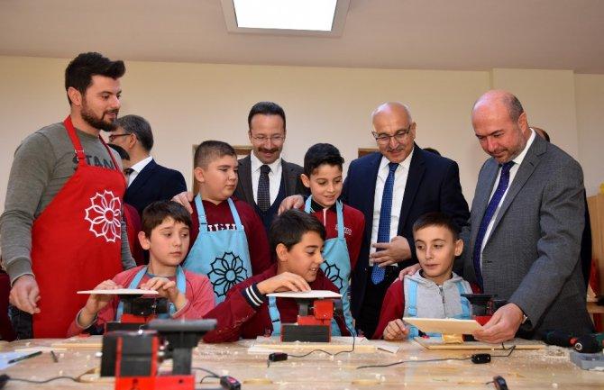 SEDEP Sille Tabiat Okulu öğrencilerin gelişimlerine katkı sunacak