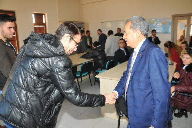 Başkan Akkaya, Engelsiz Yaşam Merkezi'ni ziyaret etti