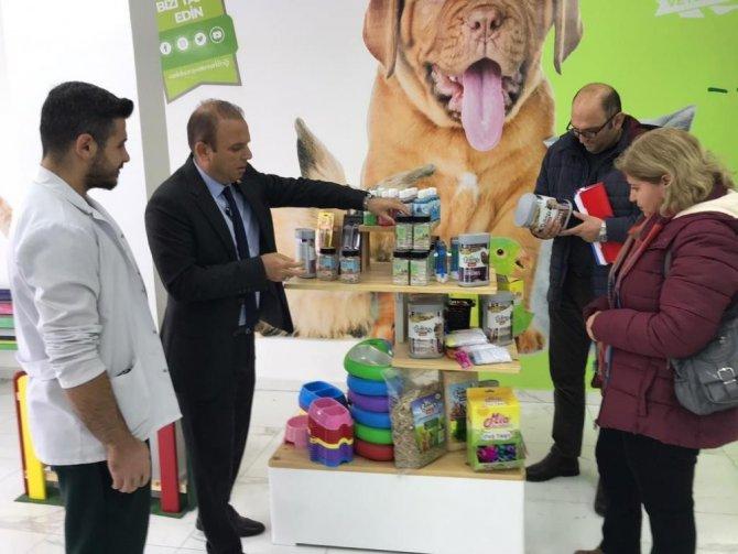 Aksaray'da veteriner klinikleri denetendi