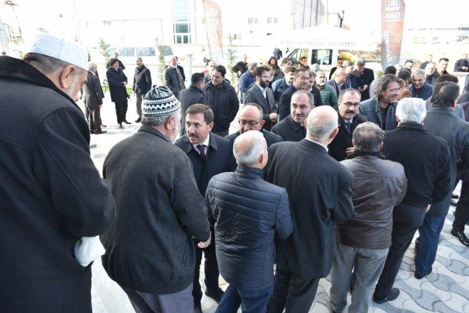 Karatay'da Ahmet Derebağ Camisi'nin açılışını gerçekleştirildi