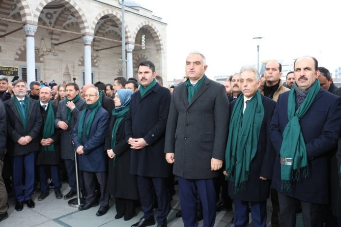 Bakan Kurum ve Bakan Ersoy 'Vefa Vakti' yürüyüşüne katıldı