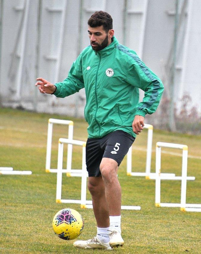 Konyaspor, A.Alanyaspor maçı hazırlıklarını sürdürdü