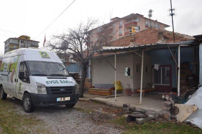 """Ereğli Belediyesinin """"Evde Bakım Hizmeti"""" devam ediyor"""