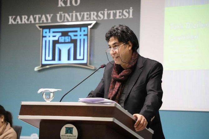KTO Karatay'da görsel ve işitsel çevirinin önemi konuşuldu