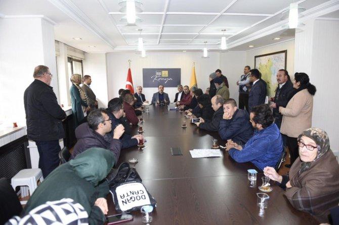 Başkan Altay yeni yılın ilk gününde vatandaşlarla buluştu