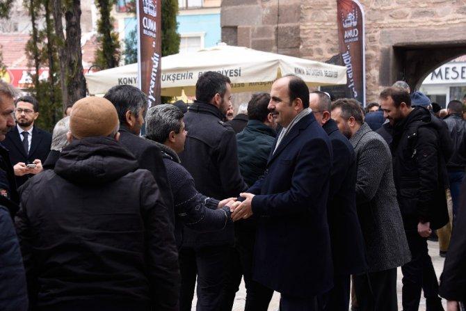 """Başkan Altay: """"Cuma Buluşmalarımız hizmet bereketimizi artırıyor"""""""