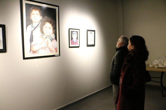"MEDAŞ Sanat Galerisinde ""MASK"" Portre Sergisi"