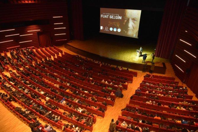 'Son Devrin Bilim Abidesi Fuat Sezgin' belgeselinin galası yapıldı