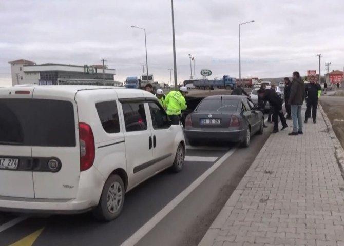 Polis ve gaspçı kovalamacası film sahnelerini aratmadı