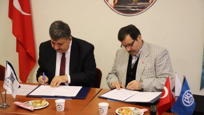 KTO Karatay Üniversitesi ile Meram Anadolu Lisesi arasında iş birliği