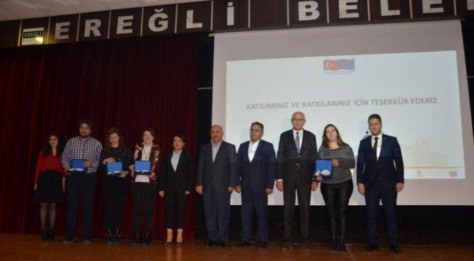 Ereğli'de İstihdam Projesinin kapanış toplantısı gerçekleşti