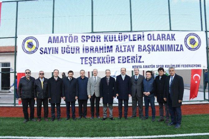 Büyükşehir'den amatör spor kulüplerine malzeme desteği