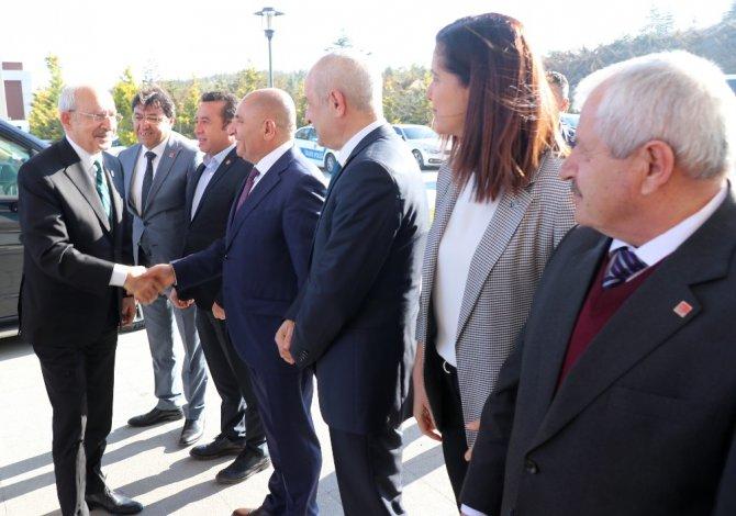CHP Genel Başkanı Kılıçdaroğlu Aksaray'da muhtarlarla bir araya geldi