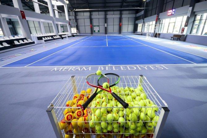 Meram Belediyesi spor tesisleri ilgi görüyor