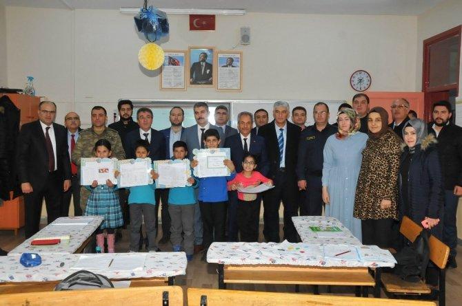 Akşehir'de 17 bin 645 öğrenci karne aldı