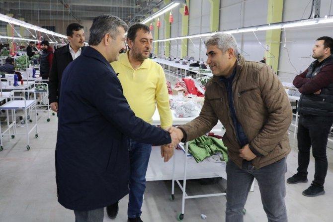 """Başkan Altınsoy: """"Yatırımcılar her zaman baş tacımız"""""""