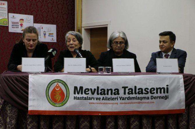Konya'da Talasemi Güncel Tedavi ve Bilgilendirme Paneli