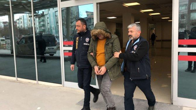 Konya'da 25 ayrı suçtan aranan cezaevi firarisi yakalandı