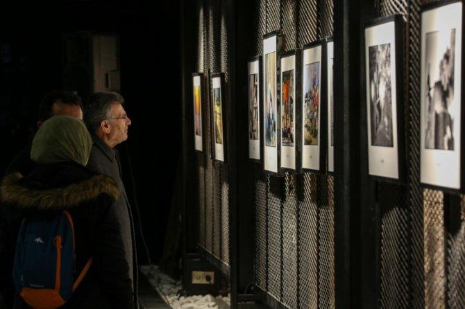 Tantavi usta fotoğrafçı Ozan Sağdıç'ı ağırladı
