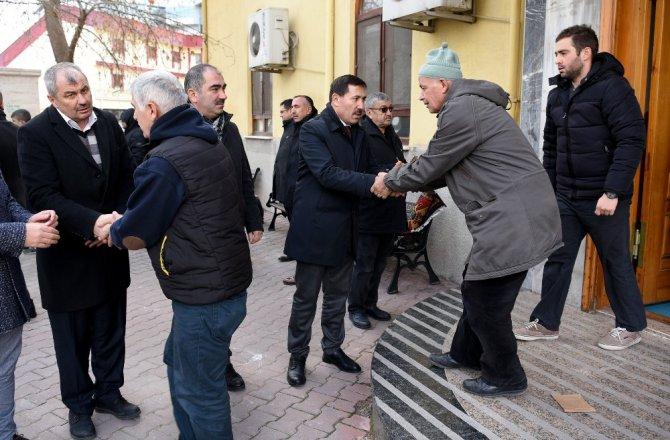 Başkan Hasan Kılca vatandaşlarla buluştu