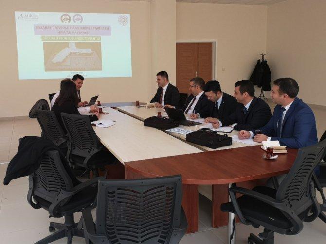ASÜ hayvan hastanesi projesi GPD gündemine alındı