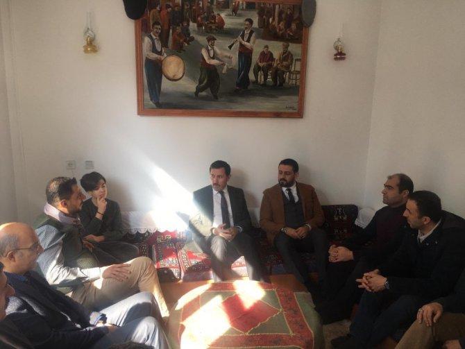 Başkan Kılca'dan Elazığ ve Malatyalılar derneğine ziyaret