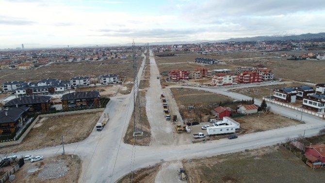 Konya'da Sultan Abdülhamid Han Caddesi çalışmaları başladı