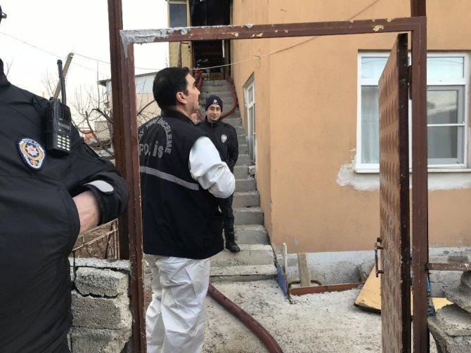 Konya'da evde yangın çıktı: 1 ölü, 1 yaralı