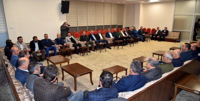 Başkan Pekyatırmacı esnaf odaları başkanlarıyla buluştu