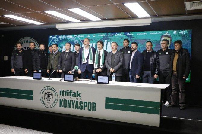 Konyaspor'da Bülent Korkmaz dönemi başladı