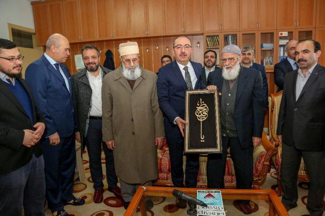 Başkan Kavuş, mezun olduğu Havzan Kur'an Kursu'nda