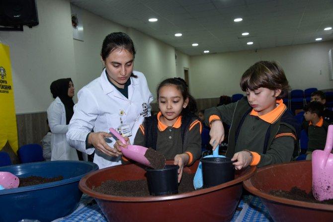 """Konya'da, """"Yerli Tohum Milli Tarım"""" projesi"""
