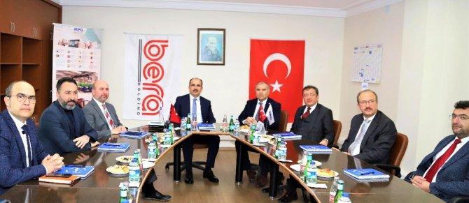 Başkan Altay ve Pekyatırmacı'dan Bera Holding'in Konya'daki üretim tesislerine ziyaret