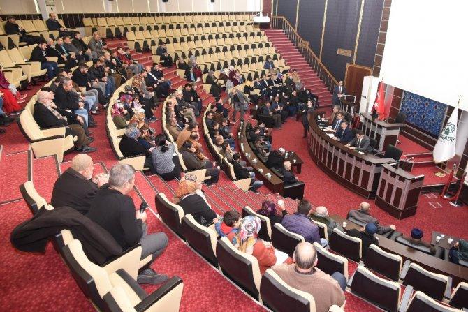 """Başkan Kılca: """"Karatay Söz Meclisi""""nde vatandaşı dinledi"""