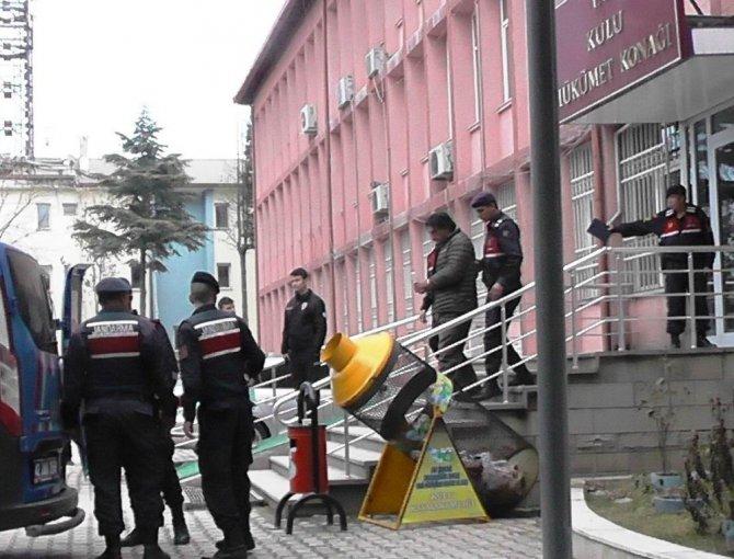 Konya'da 9 evden hırsızlık yapan 4 şüpheli tutuklandı
