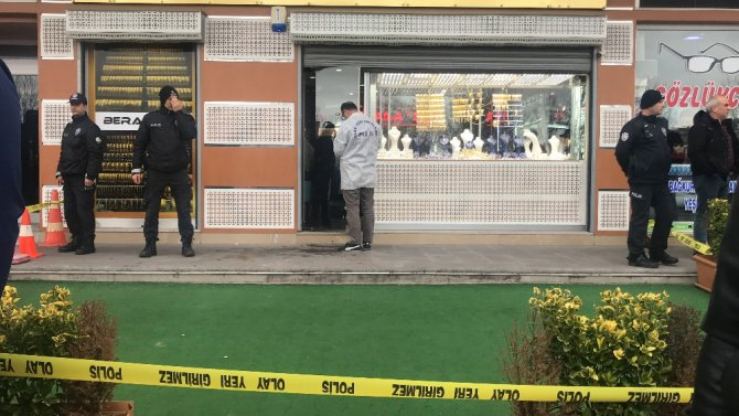 Konya'da kuyumcu soygunu