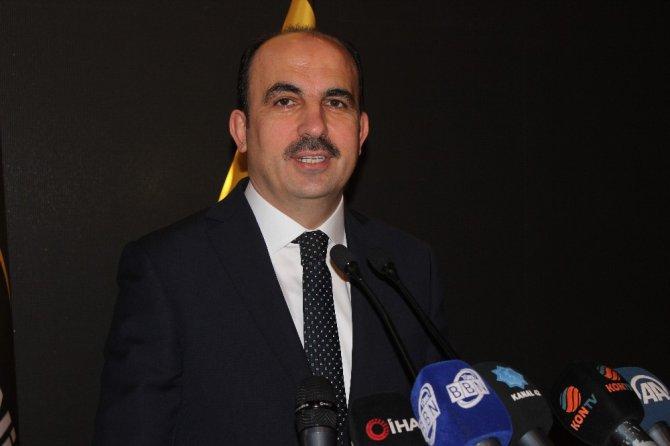 Başkan Altay basın mensuplarına gündemi değerlendirdi