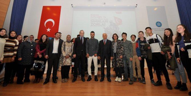 Kenan Sofuoğlu, NEÜ'lü öğrencilerle buluştu